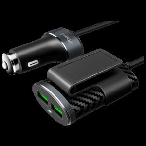 Pebble 4 USB Sharing Car Charger