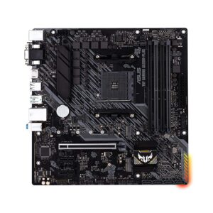 ASUS TUF Gaming A520M-Plus AMD AM4 Micro-ATX Motherboard with Gigabit Ethernet Aura RGB and USB 3.2 Gen 2