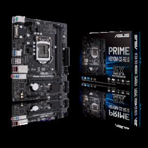 PRIME H310M-CS R2.0 Intel LGA-1151 mini-ITX motherboard with DDR4 2666MHz, VGA, SATA 6Gbps and USB 3.1 Gen1.