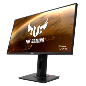 ASUS TUF Gaming VG259Q Gaming Monitor – 63.5cm (24.5 viewable) Full HD (1920×1080), 144Hz, 1ms, IPS, G-Sync compatible, Extreme Low Motion Blur, Adaptive-sync, 1ms (MPRT) FreeSync Eye Care DisplayPort