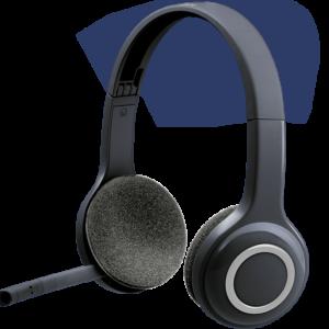 Logitech H600 Wireless Headset (Black)